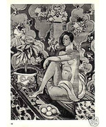 HENRI MATISSE LITHOGRAPH. 1935 PRINT w/COA. Unique Gift or Present VERY ... - $185.88
