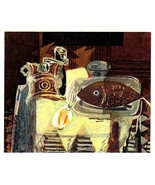 BRAQUE 1945 Lithograph +COA Georges Braque Rare Edition DELICIOUS RARE A... - $182.88