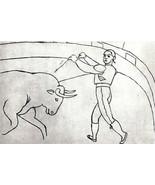 PICASSO 1960 PRINT w/COA € $ Invest or Gift Pablo Picasso SUPERB UNIQUE ... - $178.68