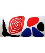 CALDER ORIGINAL LITHOGRAPH 1972. Alexander Calder litógrafo invest gift ... - $196.04