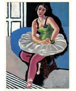 MATISSE SIGNED 1935 LITHO PRINT w/COA. £ EXCLUSIVE Henri Matisse Dancer ... - $222.35