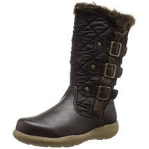 NEW IN BOX Rachel Shoes TODDLER Katniss Brown Faux Fur Snow Boots - size... - £14.14 GBP