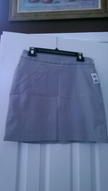 Nwt Ladies Jamie Sadock Aluminum Gray Skinnylicious Golf Skort - Size 6 - $52.99