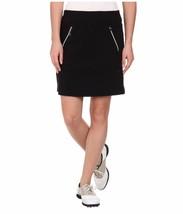 Nwt Womens Jamie Sadock Jet Black Skinnylicious Stretch Skort - Size 18 $110 - $72.99