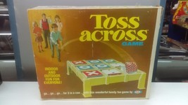 1970 Ideal Toys Toss Across Bean Bag Tic Tac Toe Game Boxed - $45.70