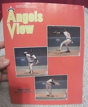 ANGEL VIEW OFFICIAL SCOREBOOK MAGAZINE MIKE WITT COVER NICE! - $8.14