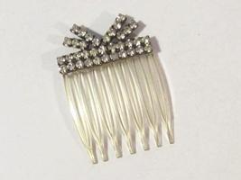 Vintage Victorian jewelry rhinestone Hair Clip - $15.00