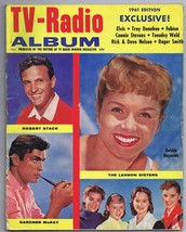 ORIGINAL Vintage 1961 TV Radio Annual Robert Stack Debbie Reynolds Gardn... - $18.51
