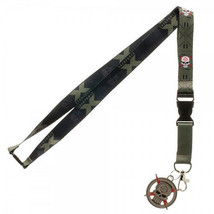 DC Comics Suicide Squad Taskforce X Lanyard wit... - $9.70