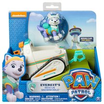 Paw Patrol Everest's Rescue Snowmobile Vehicle & Figure Toys Kids Gifts ... - $58.21