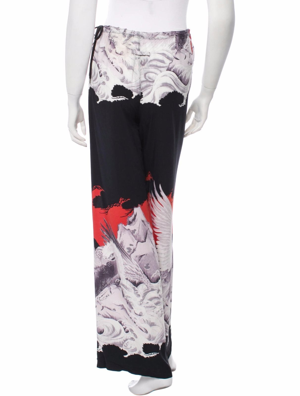 CRAZY COOL NWT JEAN PAUL GAULTIER FLARED DRAWSTRING PANTS