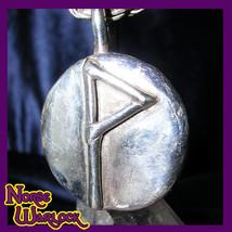 Wunjo Rune Pendant! Ecstasy, Prosperity, Glory, Spiritual Reward! Viking... - $299.99
