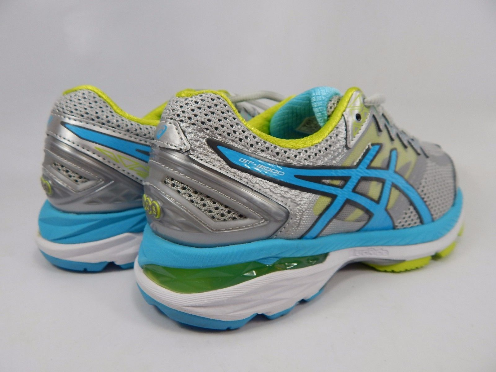 Asics GT 2000 v 4 Women's Running Shoes Size US 6.5 D WIDE EU 37.5 Silver T657N
