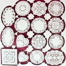 15 DOLLHOUSE Paper Doilies jk100 Jeannetta Kendall laser cut Crafts Valentines - $7.05
