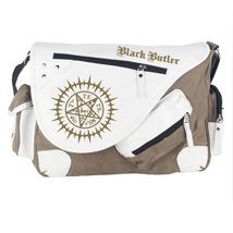 Anime Black Butler Canvas Messenger Bag Shoulder Bag Satchel Casual Men'... - $24.00