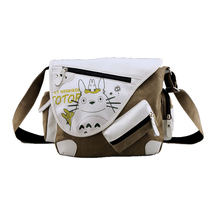 My Neighbor Totoro Canvas Messenger Bag Shoulder Bag Satchel Casual Men'... - $24.00