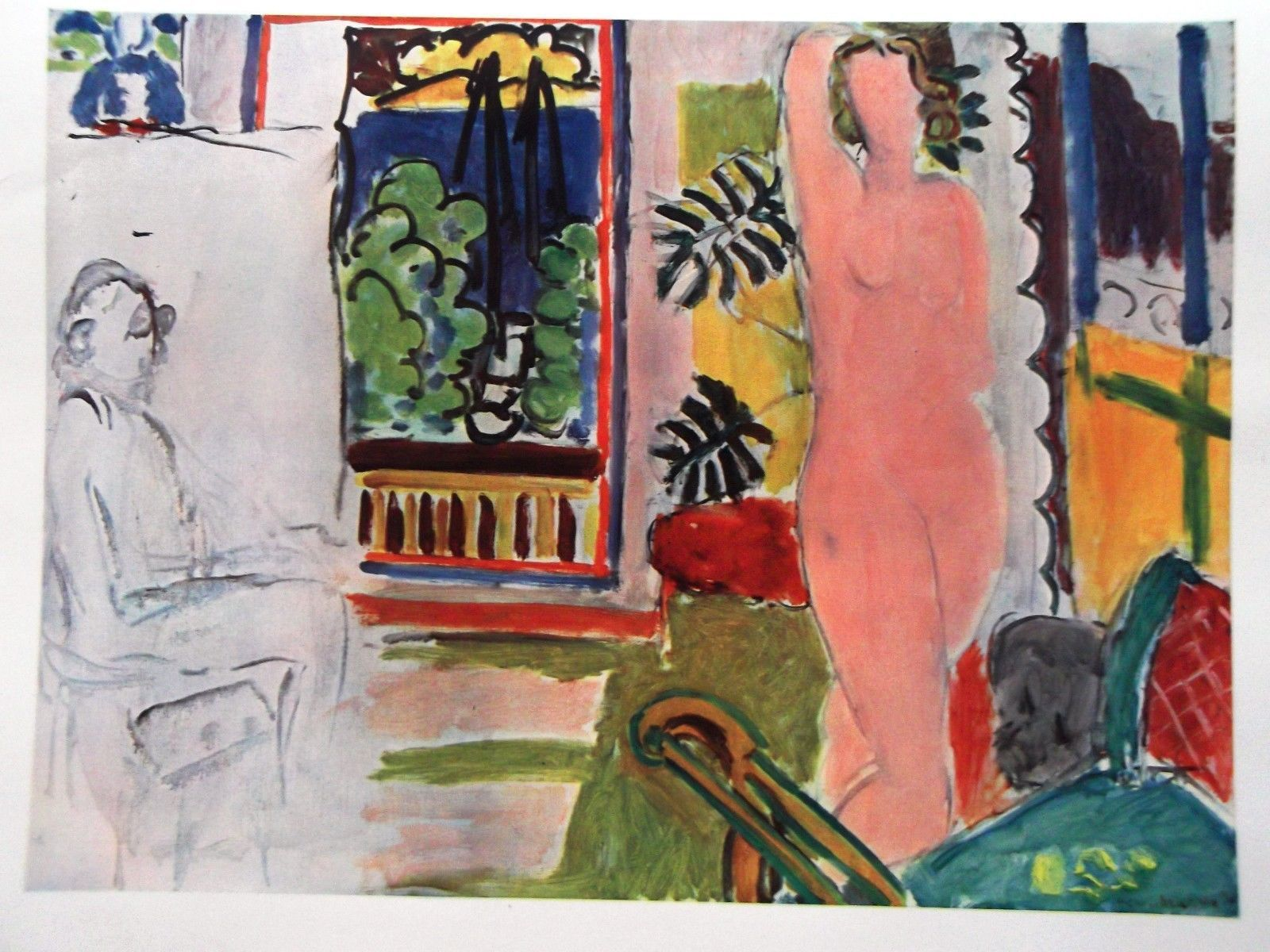 HENRI MATISSE SIGNED 1939 LITHOGRAPH + COA. £ INCREDIBLE YET AFFORDABLE RARE ART