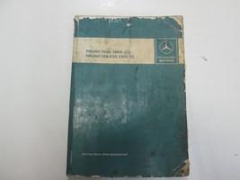 1986 Mercedes Benz Model 124.030 300 E Introduction into Service Manual ... - $49.49