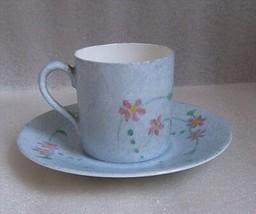 Antique Hand Painted Rosenthal Demitasse Cup Saucer Selb Bavaria Artist Signed! - $9.85