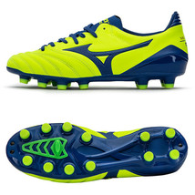 Mizuno Morelia Neo KL II MD Japan Football Shoes Soccer Cleats Volt P1GA... - $132.99