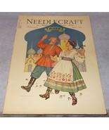 Home Arts Needlecraft Magazine Cover Art February 1931 Russia John Jackson  - $8.95