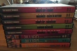 8 Jillian Michaels Fitness DVD'S-Please Take Them Away!! - $9.95