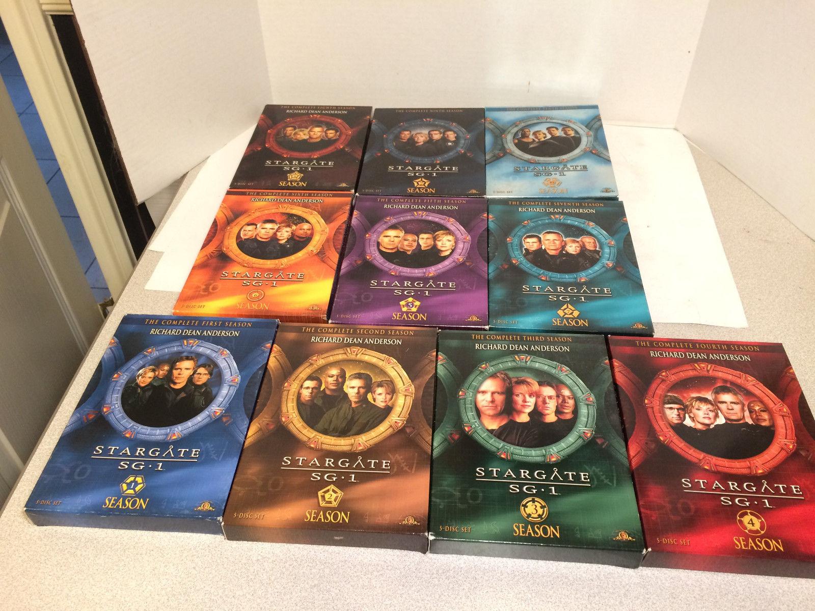 STARGATE SG-1 Complete Series Seasons 1-10 (DVD)