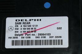 Mercedes Signal Aquisition Module SAM REAR A1645401201 Delphi 28064103 image 3