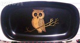 "EAMES ERA MID CENTURY MODERN-- COUROC OWL OBLONG TRAY 12 3/8""  X  6 3/4""  - $27.45"