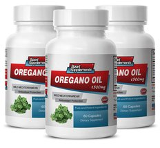 Digestive Cleanser - Oregano Oil (Wild Mediterran EAN) Extract 1500 - Pure Ore... - $33.99