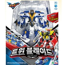 Tobot Twin Blade Transformation Action Figure Robot Toy Helicopter Vehicle Car