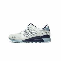 Mens Asics Gel Lyte 3 III Glacier Grey Silver Blue 1191A201-020 - $109.99