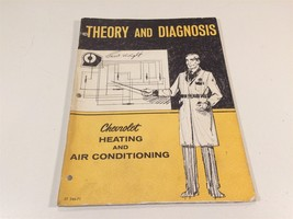 1971 Theory & Diagnosis Chevrolet Heating and Air Conditioning ST 346-71 - $9.99
