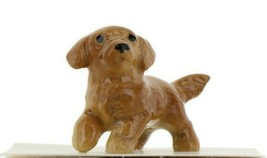 Golden Retriever Puppy Ceramic Dog Figurine - Miniatures by Hagen-Renake... - $7.29