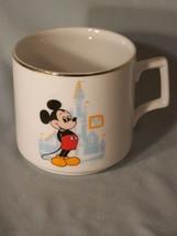"Walt Disney World souvenir coffee cup approx 3.2"" tall - $5.10"