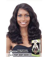 SNG NAKED UNPROCESSED REMY1 00% H.HAIR DEEP INVISIBLE L-PART BODY WAVE  WIG - $95.03
