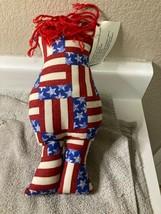 DAMMIT DOLL   AMERICANA  FLAG   RED, WHITE & BLUE   FREE SHIP   NEW - $11.70