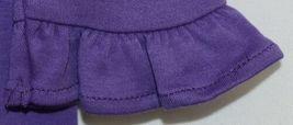 Blanks Boutique Purple Long Sleeve Empire Waist Ruffle Dress Size 2T image 4