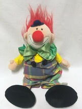 "Vtg 1989 Chappy the Clown Plush Doll Heritage Collection Ganzbros Ganz 17"" - $12.86"