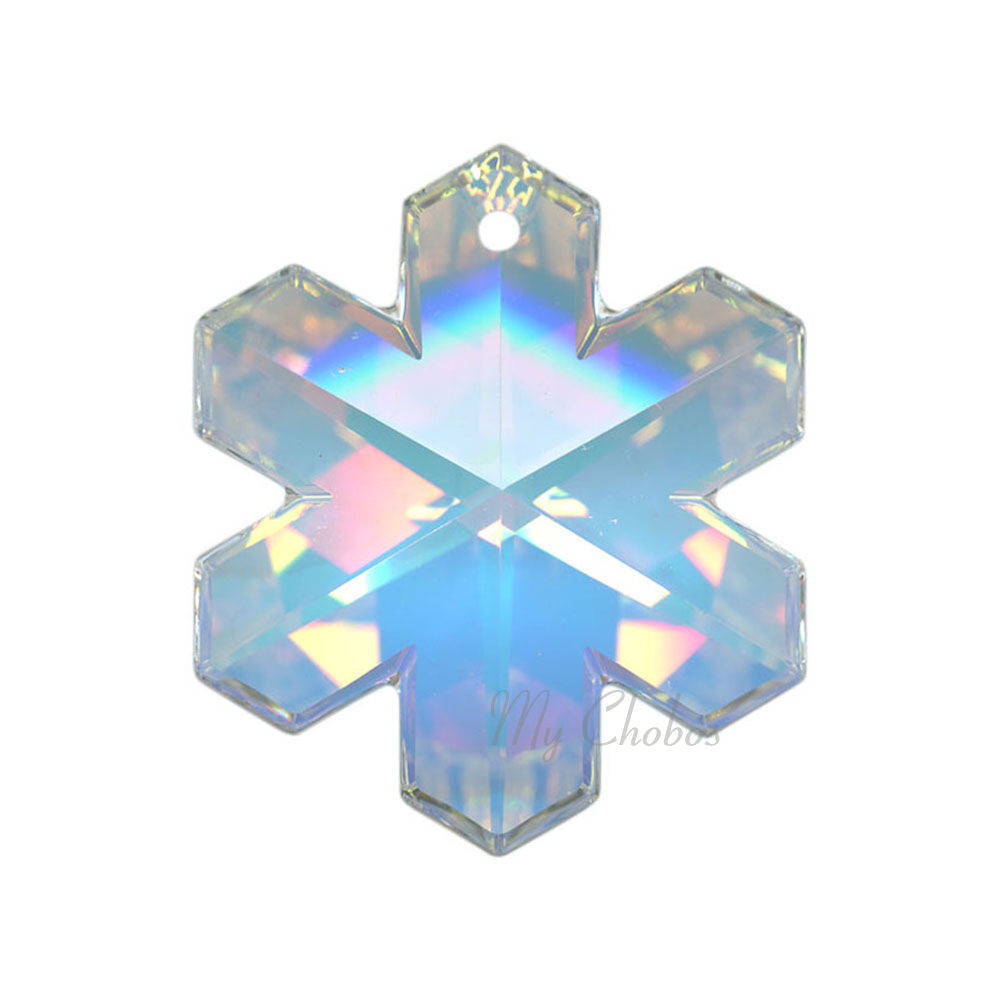"Swarovski Pendants jewelry necklace making CRYSTAL AB (001 AB) ""Pick Your Shape"" image 8"