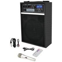 Pyle Pro PWMAB250BK 300-Watt Bluetooth 6.5 Portable PA Speaker System - $100.15