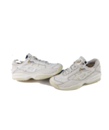 Vtg Asics Womens Size 10 Spell Out Distressed Leather Mom Shoes Sneakers... - $79.15