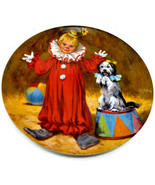 Tommy the Clown Plate 1st Issue McClelland Children's Circus Collection - $10.39
