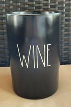 Rae Dunn Black WINE BOTTLE Chiller By Magenta Artisan Collection LL Farm... - $29.99