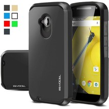 Motorola Moto E (2nd Gen) Case Hard Slim Hybrid Phone Defender Protector... - $7.83