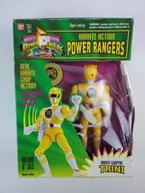 1994 Bandai Power Rangers Yellow Ranger Trini Karate Action Figure Turne... - $18.69