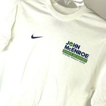 Mens Nike Sz M Tennis Academy John McEnroe Tee 2010 Sportime - $19.79