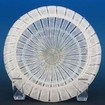 Vintage Murano Glass White Zanfirico Covered Candy Box or Dresser Jar c.1950 image 10