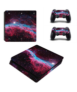 PS4 Slim Console Dualshock Controllers Skin Spa... - $12.00