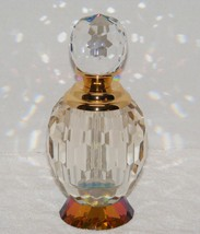 VINTAGE 24K GOLD AUSTRALIAN CRYSTAL CUT GLASS P... - $599.99